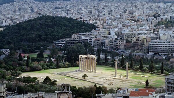 View of Athens from Acropolis - Sputnik International