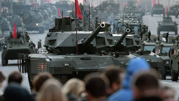 Moscow. Rehearsal for parade marking 70th anniversary of victory in the Great Patriotic War - Sputnik International
