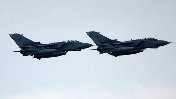 Royal Air Force (RAF) Tornado GR4 fighter - Sputnik International