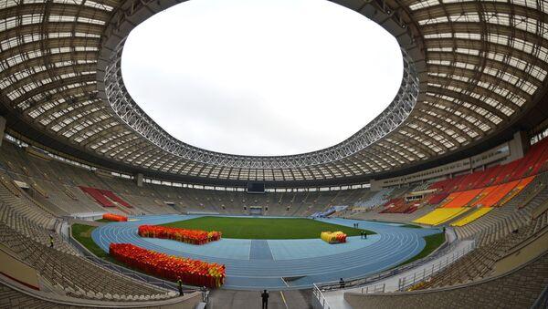 Renovation of Luzhniki stadium for 2018 football World Cup - Sputnik International