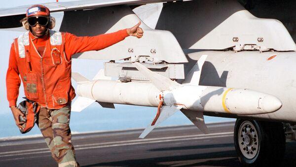 AGM-88B High-Speed Anti-Radiation Missiles - Sputnik International