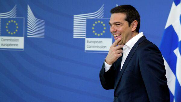 Greek Prime Minister Alexis Tsipras - Sputnik International