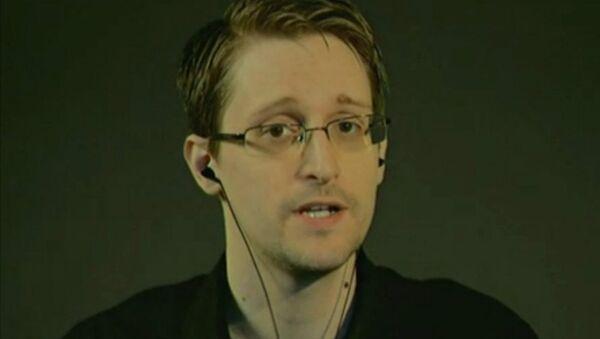 Edward Snowden Speaks to the Council of Europe - Sputnik International