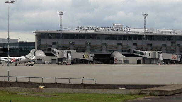 Arlanda airport - Sputnik International