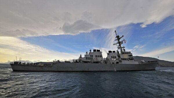 US Destroyer Laboon - Sputnik International