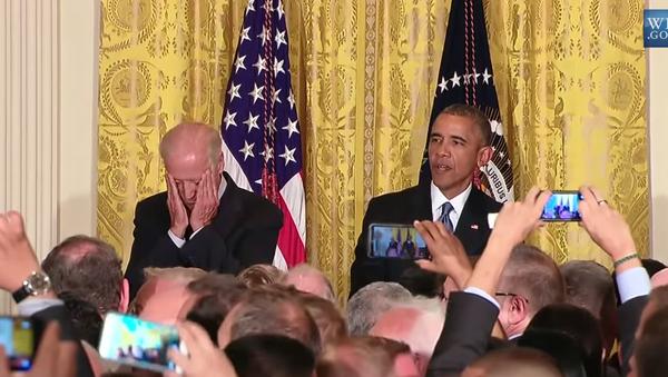 Obama Heckled at White House LGBT Pride Event - Sputnik International