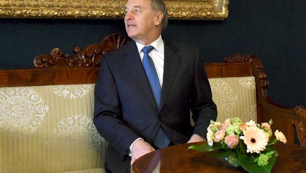 President of Latvia Andris Berzins - Sputnik International