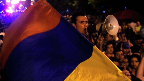 Protests in Yerevan - Sputnik International