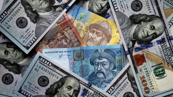 US and Ukrainian notes - Sputnik International