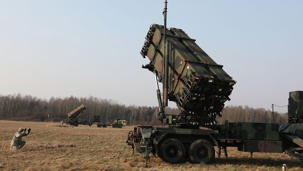 U.S. troops from 5th Battalion of the 7th Air Defense Regiment are seen at a test range in Sochaczew, Poland, on Saturday, March 21, 2015 - Sputnik International