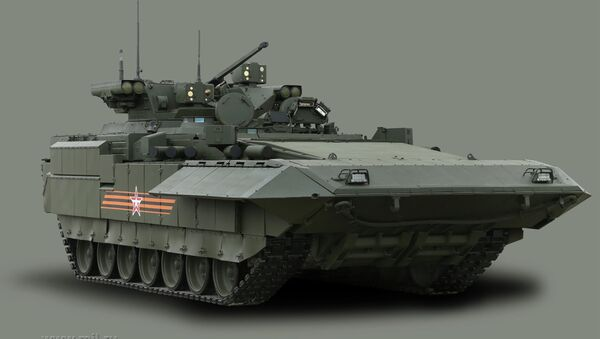 An infantry fighting vehicle T-15 with the Armata Universal Combat Platform - Sputnik International