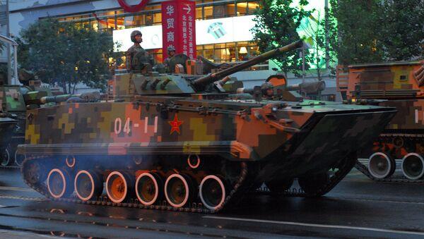 Tanks in Beijing - Sputnik International