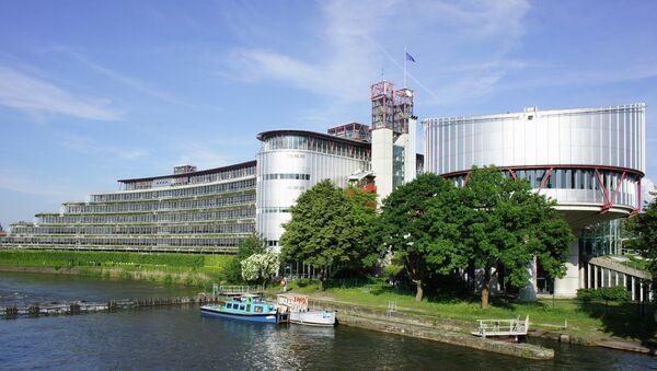 European Court of Human Rights, Strasbourg - Sputnik International