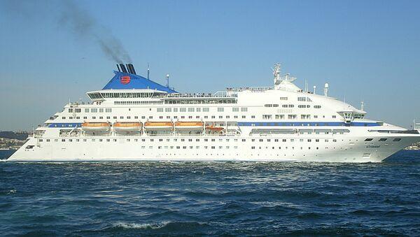 Cruise ship Celestyal Crystal - Sputnik International