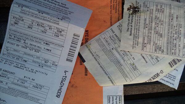 New York parking tickets - Sputnik International