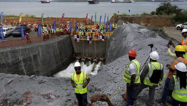 The Panama Canal Expansion project - Sputnik International