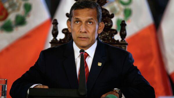 Peru's President Ollanta Humala - Sputnik International