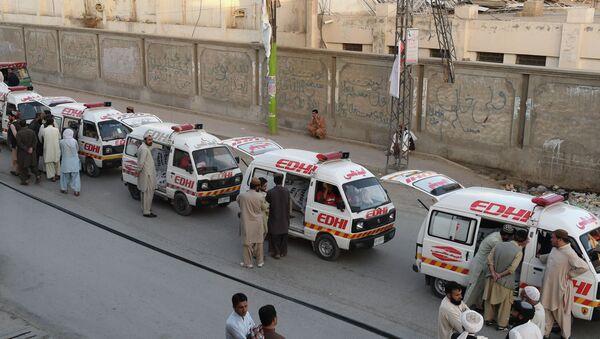 Ambulance, Balochistan province, Pakistan - Sputnik International