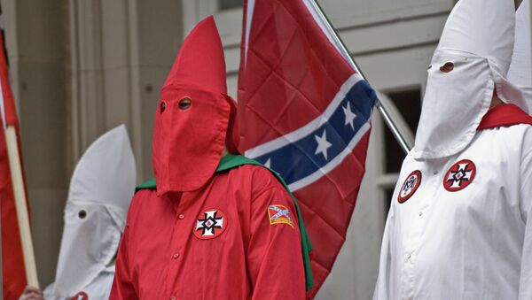 KKK Gets Go Ahead for Cross-Lighting Pro-Confederate Flag Rally in South Carolina - Sputnik International