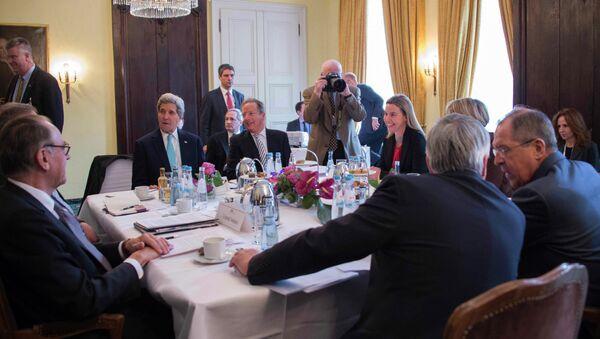 Quartet on the Middle East meeting. File photo - Sputnik International