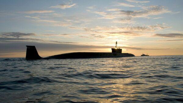 Borey-Class Strategic Submarine Yuri Dolgoruky - Sputnik International