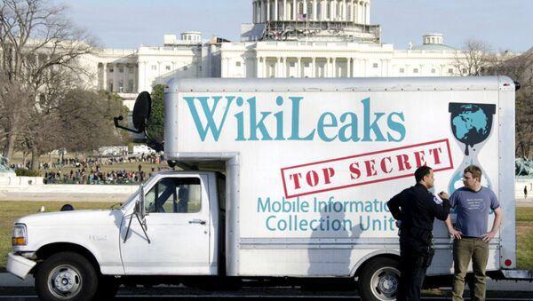 Wikileaks Van - Sputnik International