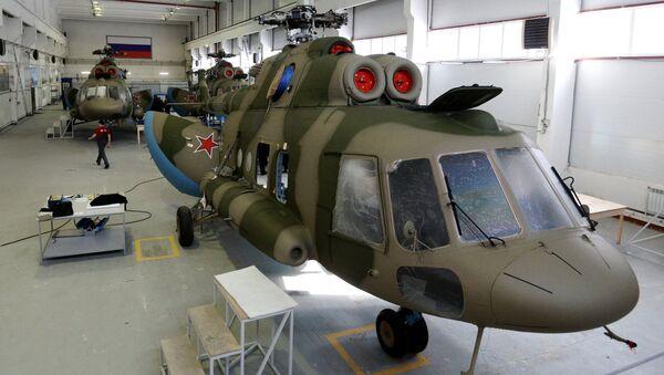 Mi-8 MTPR helicopters - Sputnik International