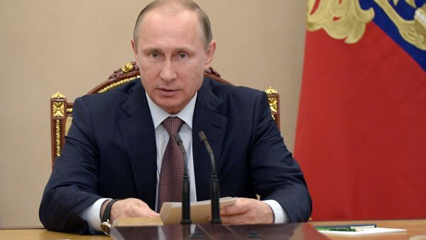 President Vladimir Putin holds Security Council meeting - Sputnik International