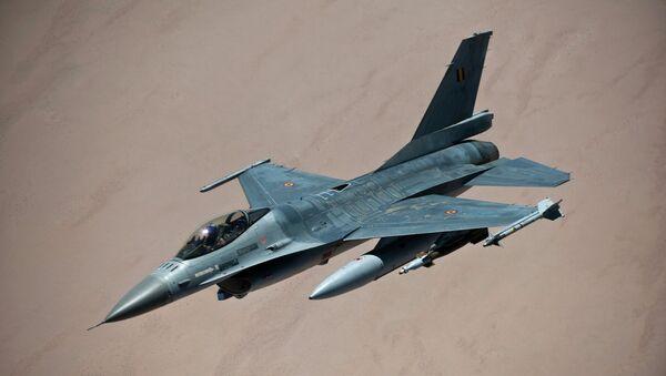 Belgian F-16 fighter - Sputnik International