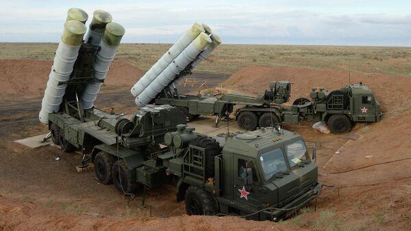 S-400 Triumf anti-aircraft system - Sputnik International