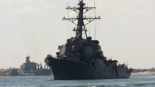 US army destroyer USS Porter - Sputnik International