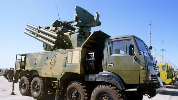 Pantsir-S1 Air Defense Missile/Gun System - Sputnik International