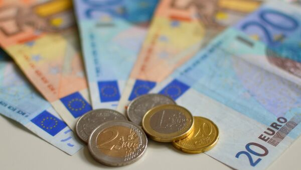 Euro Note Currency - Sputnik International