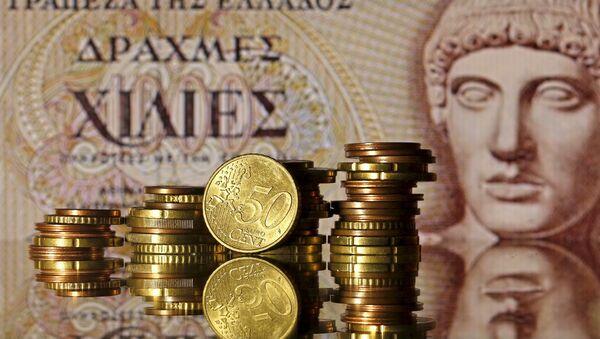 Euro coins - Sputnik International