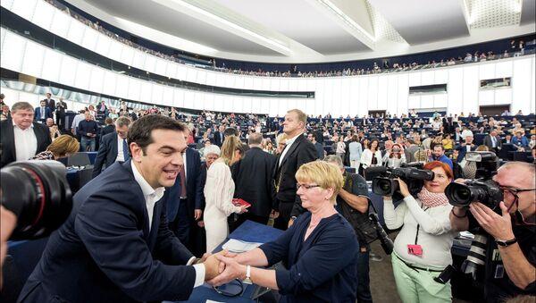 Plenary debate on European Council and Euro Summit - Sputnik International