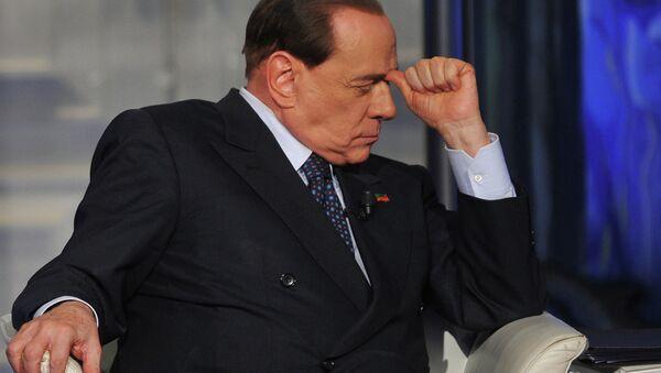 Former Italian Prime Minister Silvio Berlusconi - Sputnik International
