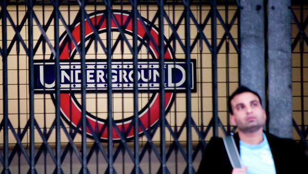 London Underground strike - Sputnik International