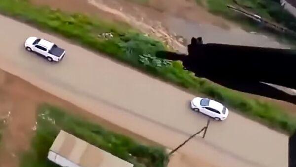 Brazilian Police Helicopter Fires at Escaping Car - Sputnik International