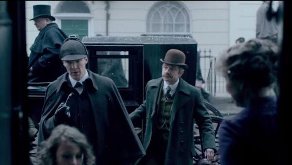Sneak Peek of Sherlock Special - Sputnik International