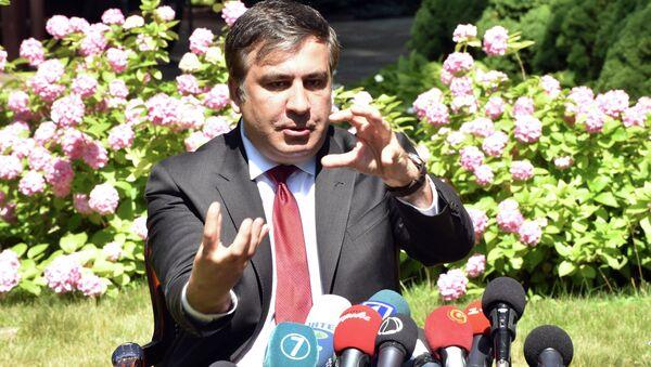 Mikheil Saakashvili, governor of Ukraine's Odessa Region - Sputnik International