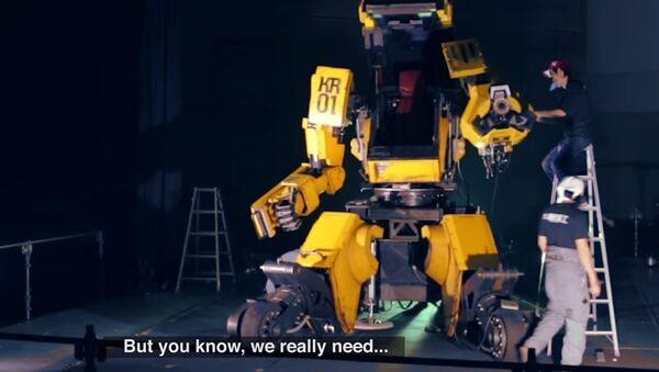 RESPONSE TO ROBOT DUEL CHALLENGE - Sputnik International