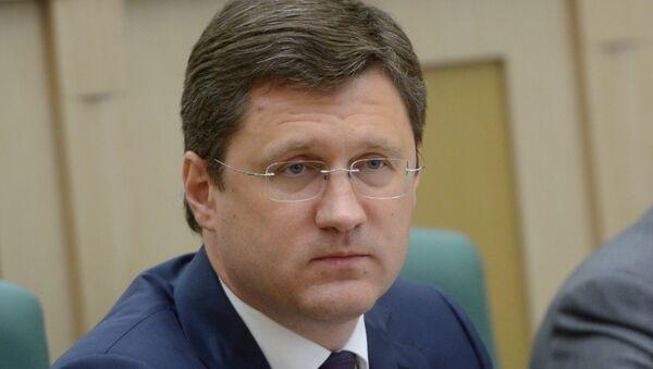 Minister of Energy Alexander Novak - Sputnik International