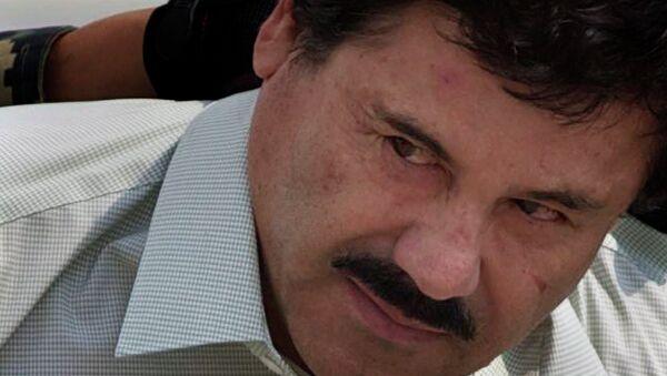 US Knew of Mexican Drug Kingpin El Chapo's Plan to Break Out of Prison - Sputnik International