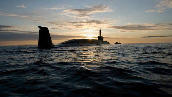 The Yury Dolgoruky nuclear-powered submarine - Sputnik International