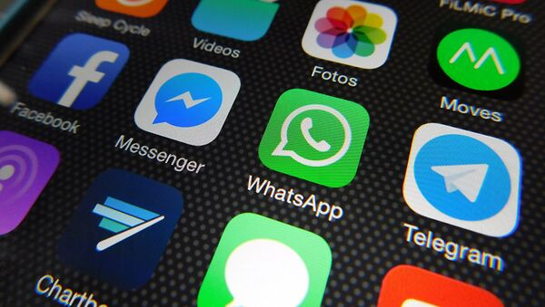 Social media apps - Sputnik International