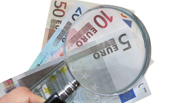 Euro banknotes - Sputnik International