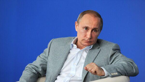President Vladimir Putin visits Terra Scientia Russian Educational Youth Forum - Sputnik International