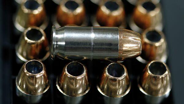Hollow point .45-caliber bullets. - Sputnik International