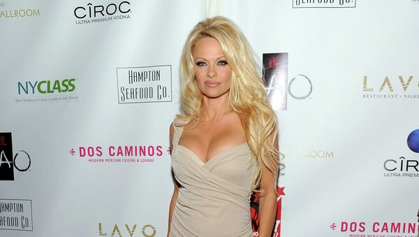 Actress Pamela Anderson attends A Night of New York Class gala benefit to help ban New York City carriage horses on Tuesday, Oct. 23, 2012 in New York - Sputnik International