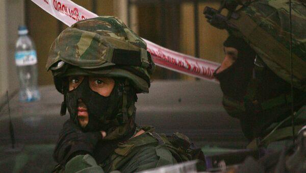 Israeli special police force officers. - Sputnik International
